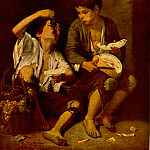 Bartolome Esteban Murillo - Boys Eating Fruit (Grape and Melon Eaters), ca 1670,