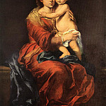 Bartolome Esteban Murillo - Virgin and Child with a Rosary