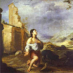Bartolome Esteban Murillo - The Prodigal Son Feeding Swine