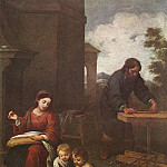 Bartolome Esteban Murillo - Holy Family with the Infant St John