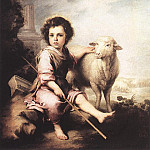 Bartolome Esteban Murillo - Christ the Good Shepherd