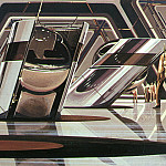 Syd Mead - GoldDroidGuards