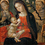 Gentile da Fabriano - Madonna and Child with Saints Mary Magdalene and Anthony of Padua