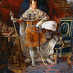 Carlo Francesco Nuvolone - Portrait of Ferdinand I of Austria (1793-1875), Emperor of Austria and King of Hungary
