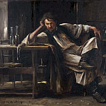Michel (Mihaly) Lieb Munkacsy - Self-contempt