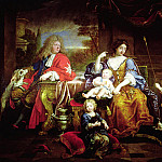 Pierre Mignard - The Grand Dauphin with his Wife and Children