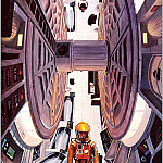 Robert Mccall - Inside 2001 Spaceship