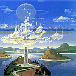 Robert Mccall - Island Shrine