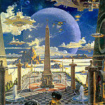 Robert Mccall - Apotheosis of Technology