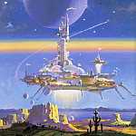 Robert Mccall - Castle in the Sky