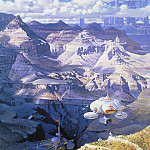 Robert Mccall - Grand Canyon from the South Rim