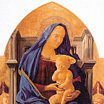 Tommaso Masaccio - 1426 The Virgin and Child