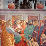 Raising the Son of Theophilus (Later finished by Fi, Filippino Lippi