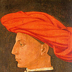 Tommaso Masaccio - Portrait of a Young Man, 1423-25, wood, Isabella St