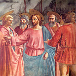Tommaso Masaccio - The Tribute Money, detail, 1426-27, fresco, Brancac