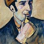 Otto Muller - Portrait of Franz Marc