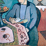 August Macke - The Artists Wife