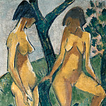 Otto Muller - Two girls