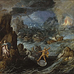 Shipwreck of the Greek Fleet on the Voyage Home from Troy