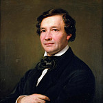 Portrait of the pianist and composer Wilhelm Taubert