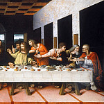 Correggio (Antonio Allegri) - The Last Supper (Copy of Leonardo da Vinci)