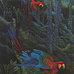 Shirley Moore-Leago - Shirley-Red and Green Macaw