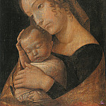 Andrea Mantegna - Virgin and Child 1 (1465-1470)