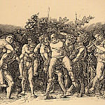 Andrea Mantegna - Bacchanal with Silenus
