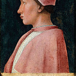 Andrea Mantegna - Portrait of Francesco Gonzaga (1461)