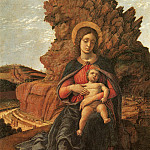Andrea Mantegna - The Madonna of the Stonecutters (1488-1490)