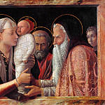 Andrea Mantegna - Presentation at the Temple 1 (1453)