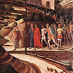 Andrea Mantegna - Agony in the Garden detail