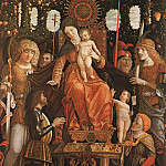 Andrea Mantegna - Madonna of Victory, Musee du Louvre, Paris.