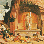 Andrea Mantegna - Resurrection (1457-1460)