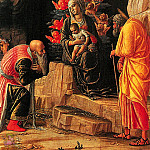 Andrea Mantegna - Adoration of the Magi (1460)