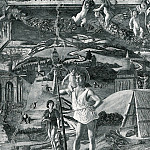 Andrea Mantegna - Scenes from the Life of St.Christopher 2 (1448)