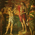 Andrea Mantegna - Baptism of Christ (1506)