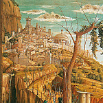 Andrea Mantegna - Christ on the Mount of Olives 3 (1460) (detail)