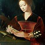 Lorenzo Lotto - Master of the Female Half-Lengths - Saint Catherine