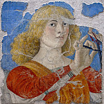 Melozzo da Forli - Music-Making Angel