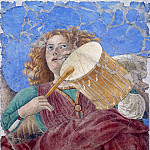 Musei Vaticani - fresco - Music-Making Angel