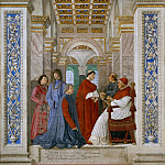 Orazio Samacchini - Sixtus IV appoints Bartolomeo Platina prefect of the Vatican Library