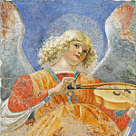 Musei Vaticani - fresco - Angel Playing the Lute