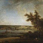 English Landscape from Mistley Hall, Essex, H Tom Hall