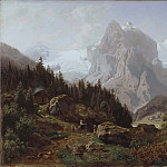 Tourists in the Mountains, Nils Bjørnsen Møller