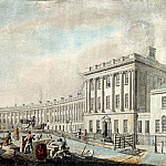 Thomas Malton Jnr. - The Completion of the Royal Crescent, Bath