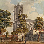 Westminster Abbey from the Schools
