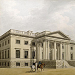 Thomas Malton Jnr. - The Great Portico of Gorhambury