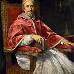 Guercino (Giovanni Francesco Barbieri) - Portrait of Pope Clement IX