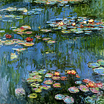 Claude Oscar Monet - Water lillies